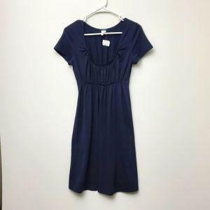 J.Crew Navy Dress with Elastic Waistband size S